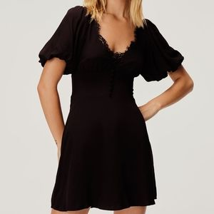 Atlanta mini dress for love and lemons black